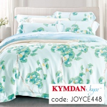 Drap Kymdan Joyce 160 x 200 cm (drap + áo gối nằm + vỏ mền) JOYCE448