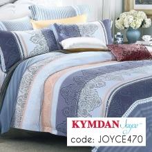 Drap Kymdan Joyce 160 x 200 cm (drap + áo gối nằm + vỏ mền) JOYCE470