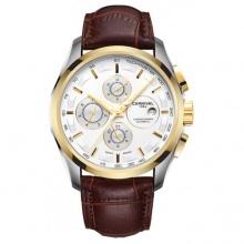 Đồng hồ nam dây da Carnival G65902.101.633