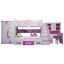 Bộ phòng ngủ giường tầng hình Công chúa