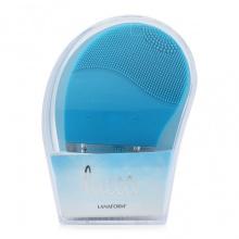 Máy rửa mặt sóng rung Lanaform Lucea màu xanh
