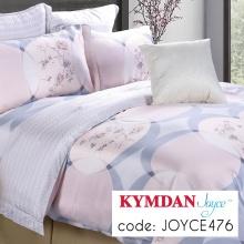Drap Kymdan Joyce 160 x 200 cm (drap + áo gối nằm + vỏ mền) JOYCE476