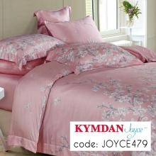Drap Kymdan Joyce 180 x 200 cm (drap bọc + áo gối nằm + vỏ mền) JOYCE479