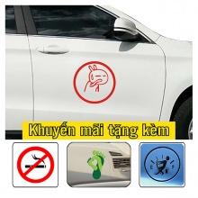Sitcker trang trí sườn xe Sticker(268)