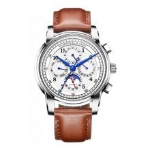 Đồng hồ nam dây da Carnival G78101.101.036