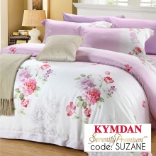 Drap Kymdan Serenity Premium 160 x 200 cm (drap + áo gối nằm + vỏ mền) SUZANE