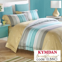 Drap Kymdan Serenity Premium 180 x 200 cm (drap + áo gối nằm + vỏ mền) ELBINO