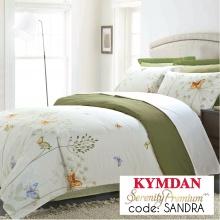 Drap Kymdan Serenity Premium 180 x 200 cm (drap + áo gối nằm + vỏ mền) SANDRA