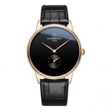 Đồng hồ nam dây da Carnival G70803.202.432