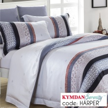 Drap Kymdan Serenity 160 x 200 cm (drap + áo gối nằm + vỏ mền) HARPER