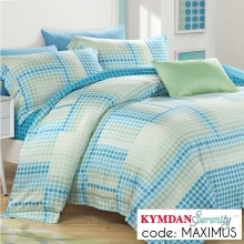 Drap Kymdan Serenity 160 x 200 cm (drap + áo gối nằm + vỏ mền) MAXIMUS