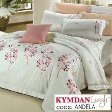 Drap Kymdan Lavish 160 x 200 cm (drap + áo gối nằm + vỏ mền) ANDELA