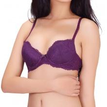 Áo ngực mút dày Wannabe AN54V (tím)