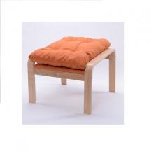 Gác chân ghế lười gỗ sồi - Cam