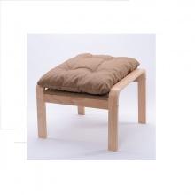 Gác chân ghế lười gỗ sồi - Nâu hạt dẻ