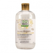 Dung dịch tẩy trang chống nhăn hữu cơ với tinh dầu Argan 500ml