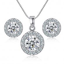 Bộ trang sức mạ bạc mini spring - Tatiana - DB1079