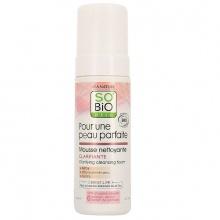 Foam rửa mặt hữu cơ làm sáng da với tinh chất hoa sen 150ml