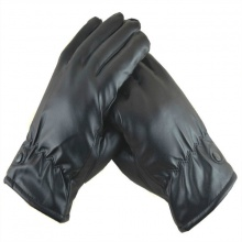 Găng tay da lót nỉ cảm ứng cho nữ GT003