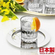 Ly rượu mạnh thủy tinh nén khối Soga Diamond Rock 300 ml (bộ 6)