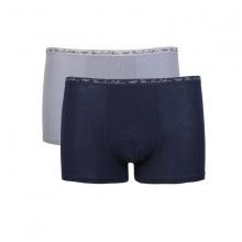 Combo 2 chiếc quần lót boxer nam SS32 - Xanh đen + xám nhạt