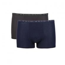 Combo 2 chiếc quần lót boxer nam SS32 - Xanh đen, xám đậm