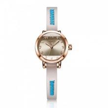 Đồng hồ nữ JA-1121D Julius Hàn Quốc dây da (kem)