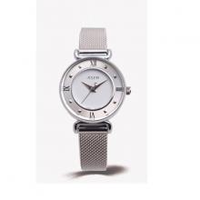 Đồng hồ nữ Julius Hàn Quốc ja-728a dây thép bạc mặt trắng
