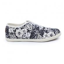 Giày sneaker nữ Sutumi O002 - bông trắng
