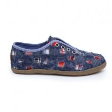 Giày sneaker nữ Sutumi O002 - xanh đậm