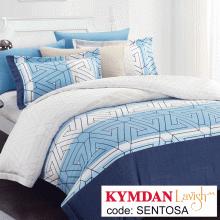 Drap Kymdan Lavish 160 x 200 cm (drap + áo gối nằm + vỏ mền) SENTOSA