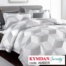 Drap Kymdan Serenity 180 x 200 cm (drap + áo gối nằm + vỏ mền) AMBER