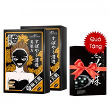 Combo 2 hộp mặt nạ trị mụn Sexylook black mask ( 10 miếng) - Tặng 01 hộp mặt nạ ngừa mụn Lovemore ( hộp 5 miếng )
