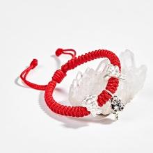 Vòng thắt dây đỏ tam hợp quý nhân hợi mẹo mùi Ngọc Quý Gemstones
