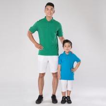 Combo 2 áo thun có cổ tay ngắn Polo cho Bố và Bé ( Two Polo T-shirt for Man and Kids) – JA4021/JK4021