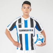 Áo thun thể thao nam cổ tim Jartazi (Men's striped sport shirt logo) JM19-0032