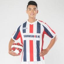 Áo thun thể thao nam cổ tim Jartazi (Men's striped sport shirt logo) JM19-0032R