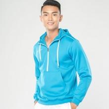 Áo Hoodie nam dệt kim Vigo Jartazi ( Knitted Hoodie Vigo) JA4540M (xanh dương)