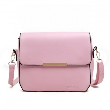Túi đeo chéo nữ Vanoca VN151 - hồng phấn