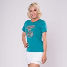 Áo thun nữ không cổ Jartazi (Born to win T-shirt) JW19-0010DG