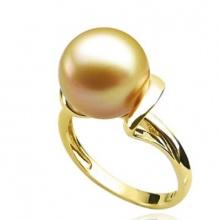 Nhẫn ngọc trai vàng 14k - NN01022