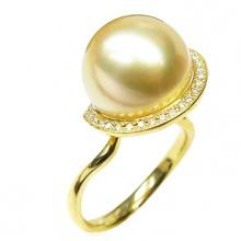 Nhẫn ngọc trai vàng 14k - NN01023