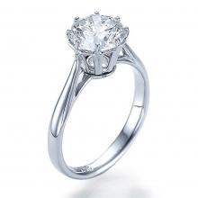 Nhẫn nữ đá kim cương nhân tạo - NNU554