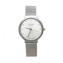 Đồng hồ nữ JA-426LD JU1052 Julius Hàn Quốc dây thép (bạc)