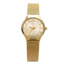 Đồng hồ nữ JA-577LE JU1129 Julius Hàn Quốc dây thép (vàng)