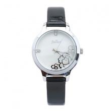 Đồng hồ nữ Julius JA-704C JU1034 Hàn Quốc dây da (đen trắng)