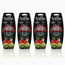 Nước hoa gài cửa gió Scents Vent Oil-Strawberry-Kiwi-804325-4packs