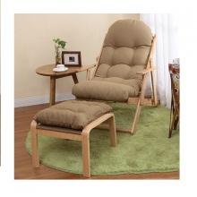 Bộ ghế lười gỗ sồi - Nâu hạt dẻ