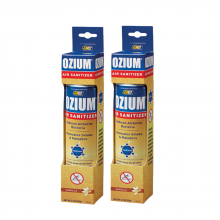 Bình xịt khử mùi Ozium Air Sanitizer Spray 3.5 oz (99g) Vanilla - OZM-23-2packs