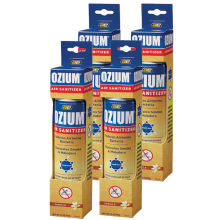Bình xịt khử mùi Ozium Air Sanitizer Spray 3.5 oz (99g) Vanilla/OZM-23-4packs